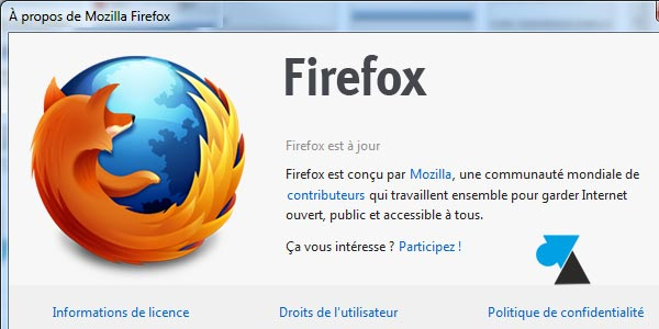Mettre à jour Mozilla Firefox