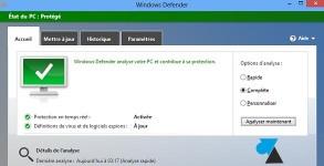 Windows Defender antivirus tutoriel