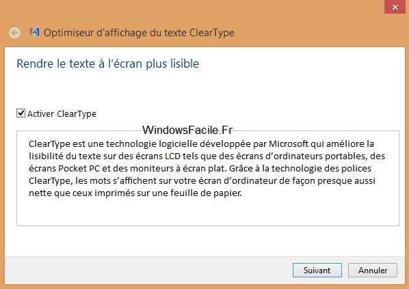 ClearType Windows 8