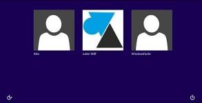 comptes utilisateurs Windows 8