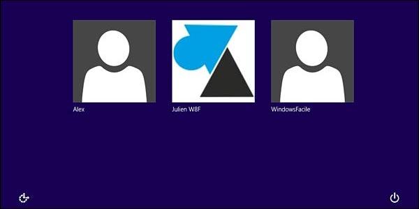Basculer d'un compte Microsoft vers un compte local