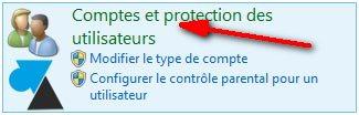 Windows 8 compte utilisateurs