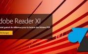 Adobe Reader PDF : désactiver panneau latéral droit