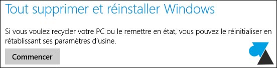 reinstaller windows 81
