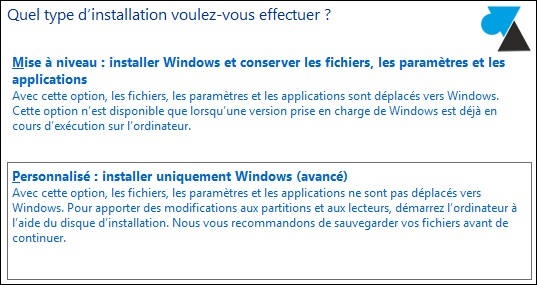 windows81 disque dur personnaliser
