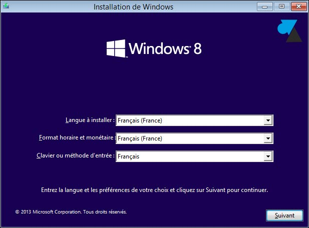 tutoriel installer Windows 8.1 home gratuit