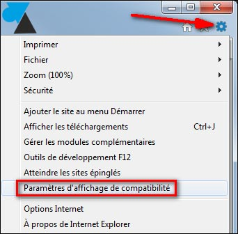 IE11 Internet Explorer mode compatibilite