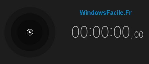 alarmes chronometre