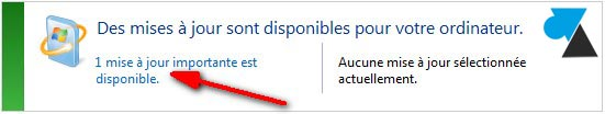 Windows Update mise a jour importante