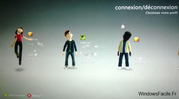 Xbox connexion compte