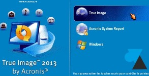 tutoriel Acronis True Image sauvegarde Windows