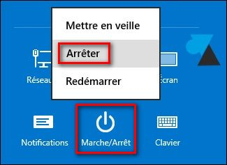 tutoriel arreter Windows 8 barre des charmes