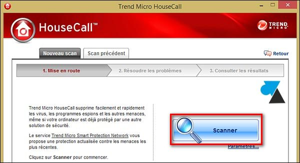 telecharger Trend Housecall antivirus gratuit en ligne