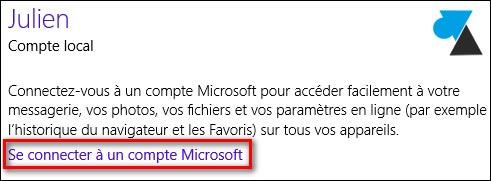 tutoriel changer compte utilisateur Microsoft Windows
