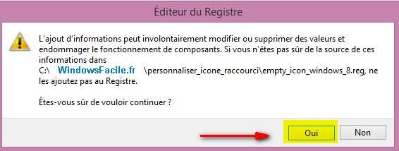 Valider modifier registre