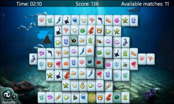 Windows Phone Mahjong jeu gratuit Microsoft