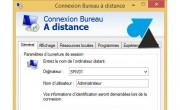 Script de connexion Bureau à distance