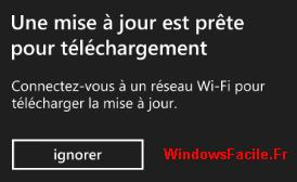 Maj WP8.1 disponible