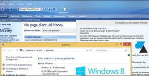 tutoriel logiciel Microsoft Money 2005 sur Windows 8