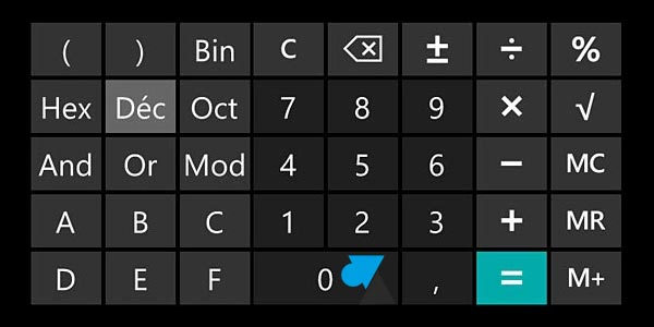 Une calculatrice scientifique dans Windows Phone 8