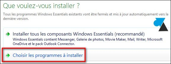 tutoriel installer Movie Maker Windows