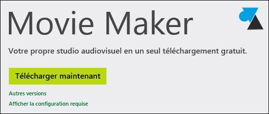logiciel d'installation sans assistance de Movie Maker
