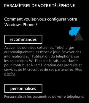 Nokia Lumia premier demarrage Windows Phone