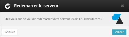 OVH Kimsufi Manager VM serveur virtuel VPS SyS