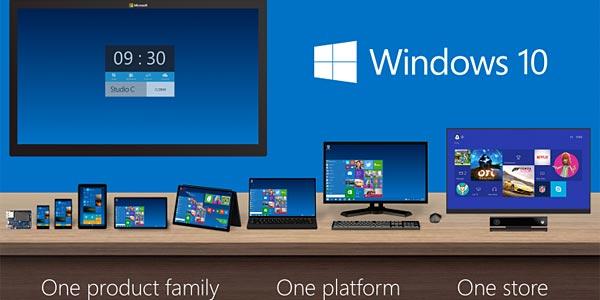 Windows 10, tablette Windows 8.1 et HoloLens