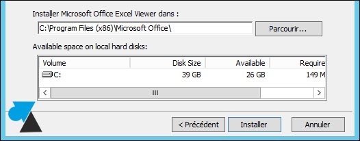 installer gratuit visionneuse Excel viewer