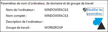 tutoriel Windows 10 changer nom PC joindre domaine
