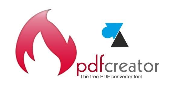 Télécharger et installer PDFCreator pour créer des fichiers PDF