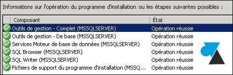 tutoriel telecharger installer SQL Server 2014 SP1