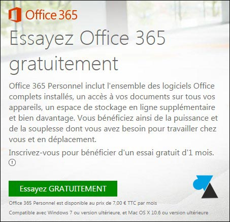 Essayer office 365 office 2013 - Windows office gratuit pour windows 8 ...