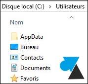 tutoriel Windows 10 afficher fichiers dossiers éléments masqués