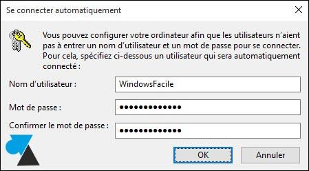 tutoriel Windows 10 supprimer mot de passe démarrage PC