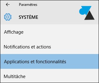 tutoriel Windows 10 applications fonctionnalités