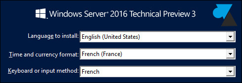tutoriel telecharger installer Windows Server 2016