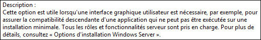 tutoriel installer Windows Server 2016 interface graphique