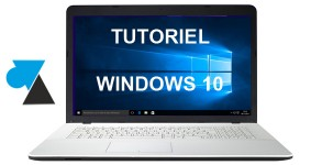 WF tutoriel Windows 10 w10
