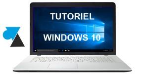 WF tutoriel Windows 10 w10