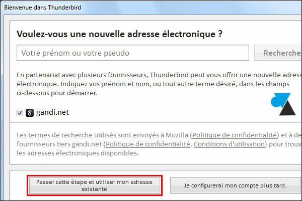 tutoriel Mozilla Thunderbird installer configurer logiciel mail courrier