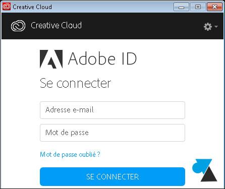tutoriel Adobe Creative Cloud