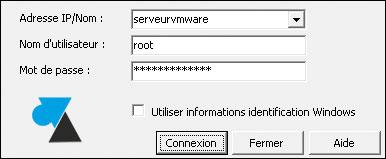 tutoriel installation serveur VMware ESXi hypervisor