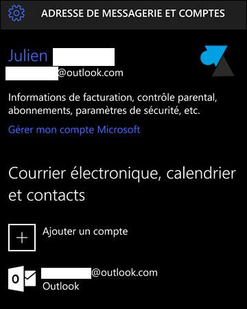 windows 10 mobile ajouter un compte google gmail. Black Bedroom Furniture Sets. Home Design Ideas