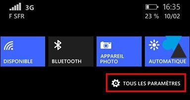 tutoriel notifications parametres smartphone Windows Phone 8