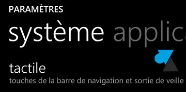 tutoriel tactile smartphone Windows Phone 8