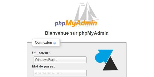 XAMPP : autoriser la connexion à distance sur phpMyAdmin