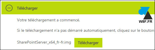 tutoriel telecharger ISO Microsoft SharePoint Server 2013