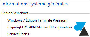 tutoriel Windows 7 Edition Familiale Premium Home